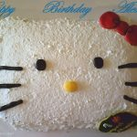 Torta decorata Hello Kitty