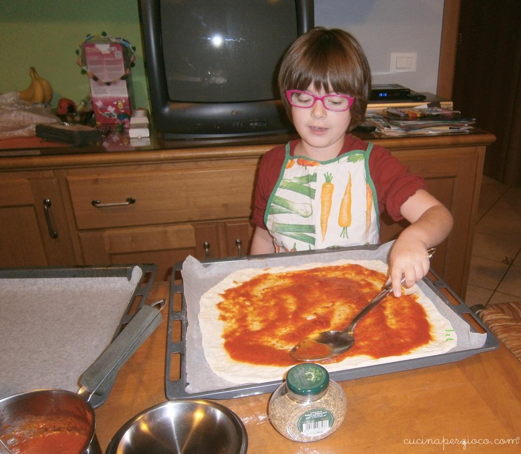 La pizza con le bolle: preparazione