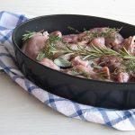 Coniglio al forno con aromi