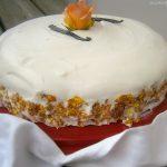 White rose cake, torta alle rose