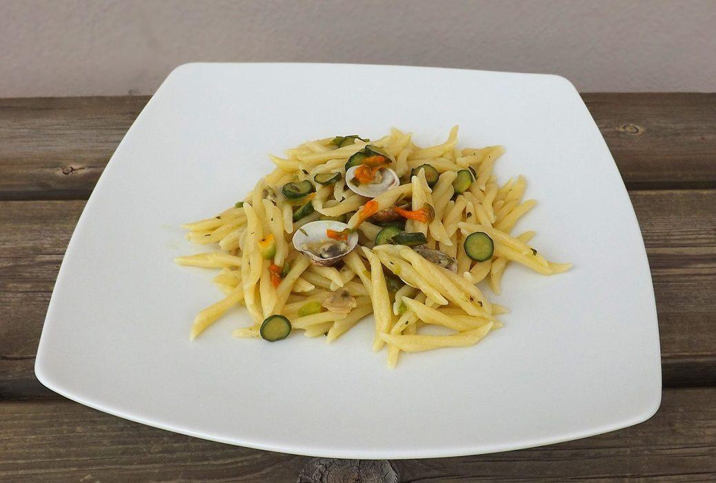 Trofie con zucchine e vongole
