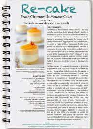 Torta mousse camomilla e nettarine o pesche, Peach Camomille Mousse cake