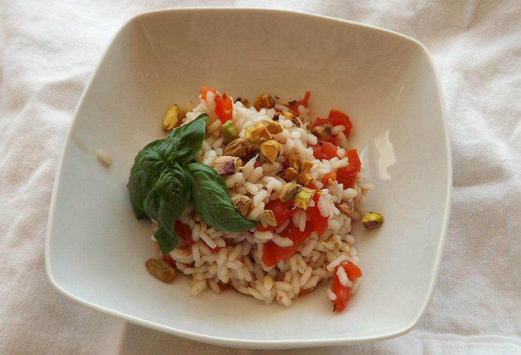 Insalata tiepida di riso