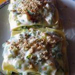 Lasagna con zucchine e nocciole: preparazione