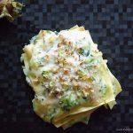 Lasagna con zucchine e nocciole