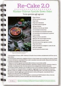 Winter Citrus UpsideDown Cake – Torta speziata agli agrumi