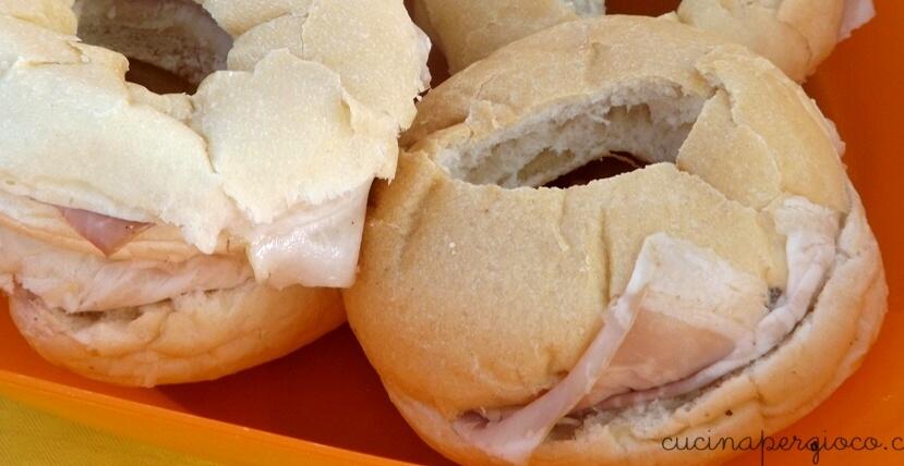 Festa a tema mare: panini salvagente