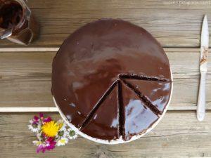 Torta cioccolato barbabietola