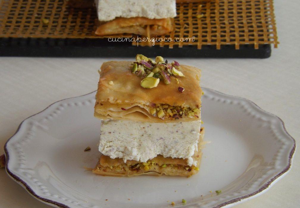 Baklava Sandwich al pistacchio