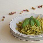Pesto di basilico e pistacchi