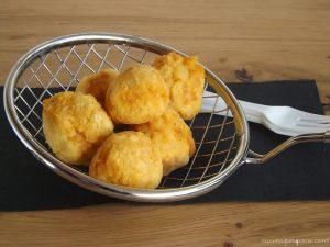Polpette fritte di stoccafisso con farina di ceci