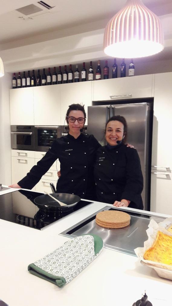 Ileana Conti e Elisabetta Gavasso: showcooking allo Scavolini Store di Treviso