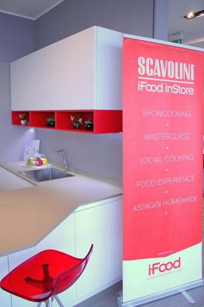 iFoodinStore allo Scavolini Store Verona Est: lo showcooking