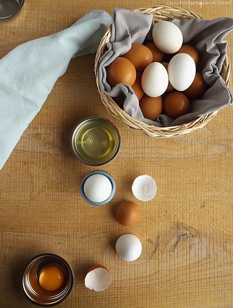 uova in cucina, quanto pesano, come cucinarle