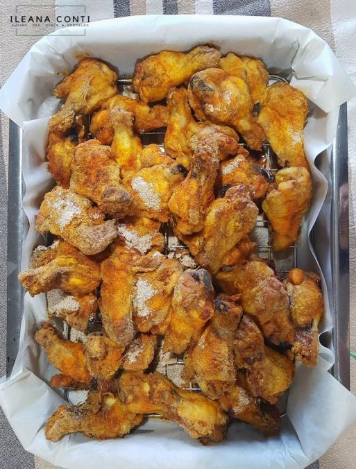 Pollo speziato con paprica e curcuma