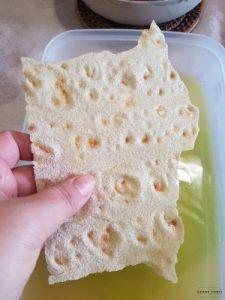 Pane carasau e pani frattau ricetta passo passo